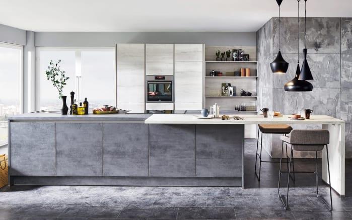 einbauk che riva in beton schiefergrau online bei hardeck. Black Bedroom Furniture Sets. Home Design Ideas