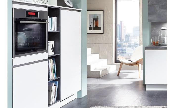 Einbauküche Fashion, alpinweiß, inklusive Elektrogeräte, inklusive Siemens-Geschirrspüler-03