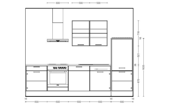 Einbauküche Laser in seidengrau, Geschirrspüler Altus SVN1402