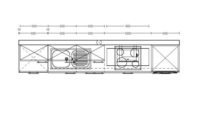 Einbauküche Laser in alpinweiß, AEG-Geschirrspüler