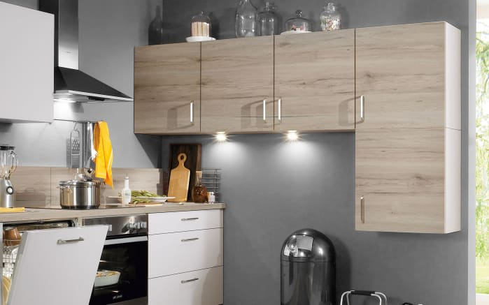 Einbauküche Speed, weiß, inklusive Elektrogeräte-02