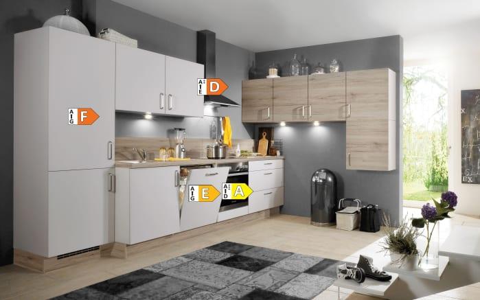 Einbauküche Speed, weiß, inklusive Elektrogeräte-05