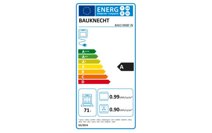 Einbauküche Struktura, Eiche Sierra Nachbildung, inklusive Bauknecht Elektrogeräte -07
