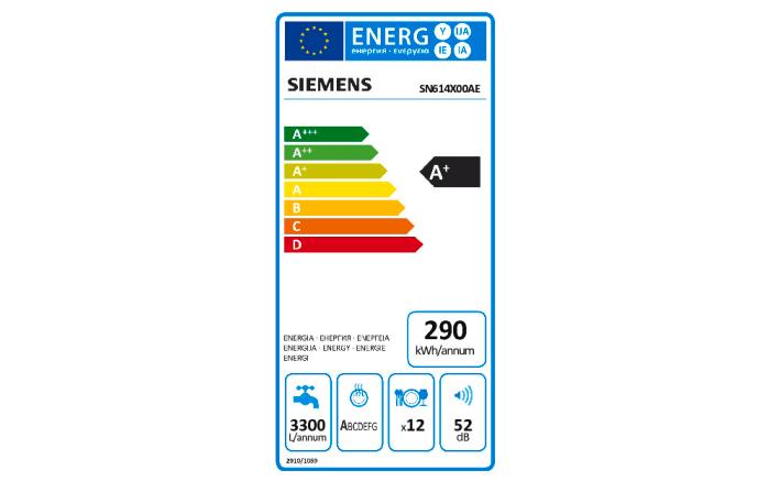 Einbauküche Alpha Lack in Sahara Hochglanz, Siemens-Geschirrspüler