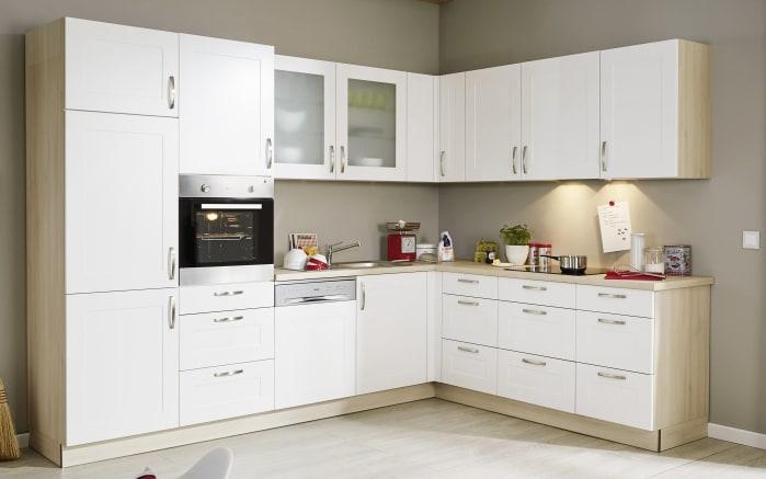 Einbauküche Frame in weiß
