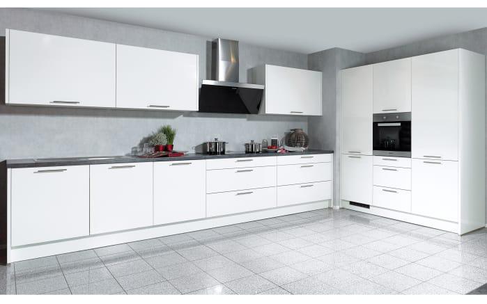 Marken-Einbauküche Faro in weiß