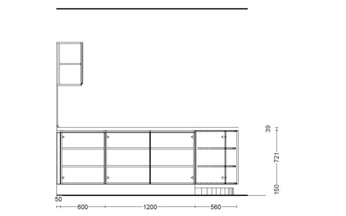 Einbauküche Lumos in weiß, inklusive Bauknecht Elektrogeräte