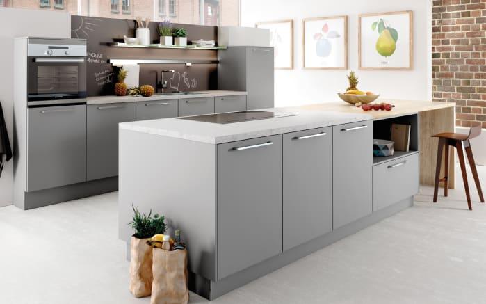 Einbauküche AV2065 in perlgrau
