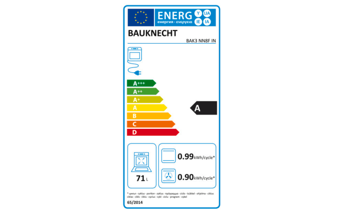 Einbauküche Uno, weiß, inklusive Bauknecht Elektrogeräte -08