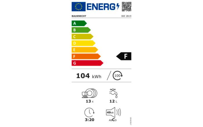Einbauküche Uno, weiß, inklusive Bauknecht Elektrogeräte -11