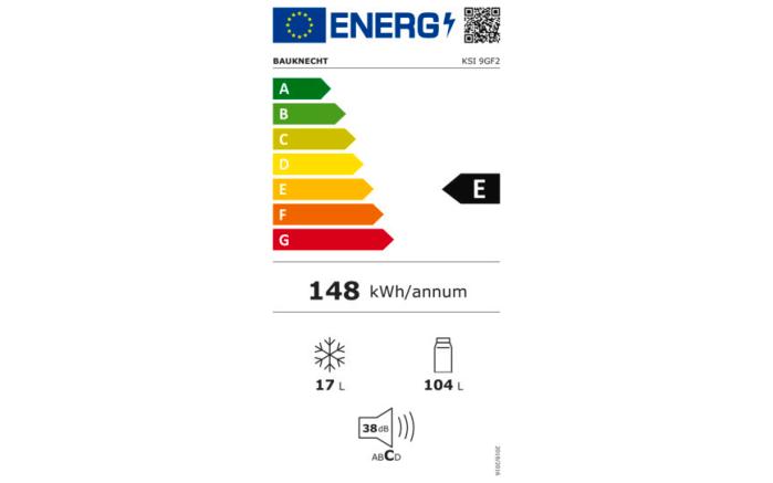 Einbauküche Uno, weiß, inklusive Bauknecht Elektrogeräte -10