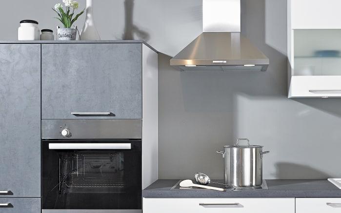 Einbauküche Uno, weiß, inklusive Bauknecht Elektrogeräte -03