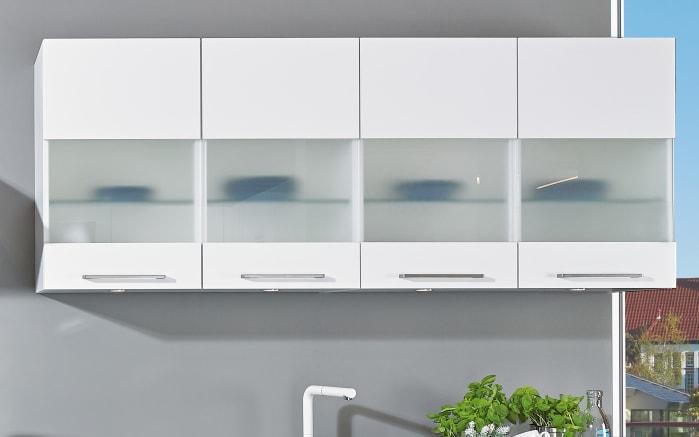 Einbauküche Uno, weiß, inklusive Bauknecht Elektrogeräte -02