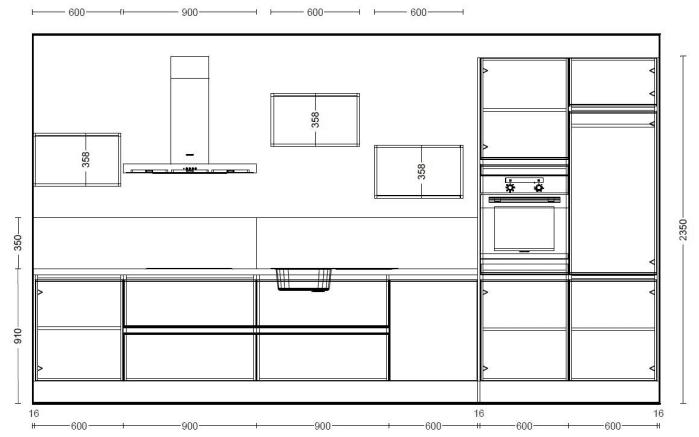 Einbauküche Uno in graphit, Blaupunkt Geschirrspüler 5VF410NP