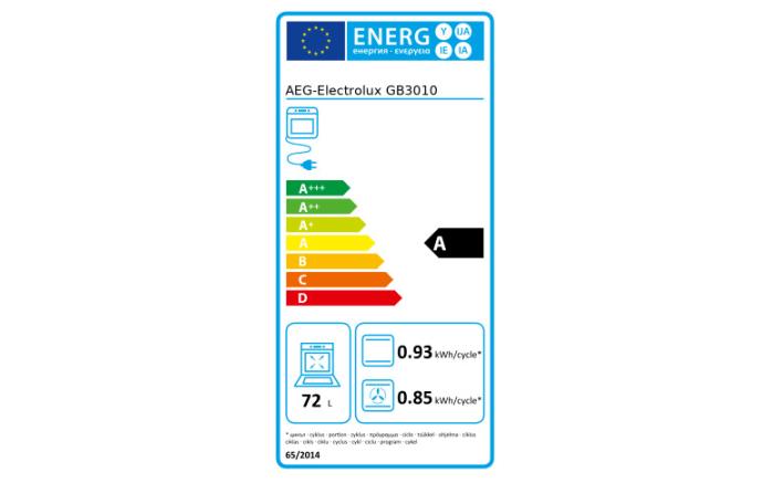 Einbauküche Uno in graphit, inklusive AEG Elektrogeräte