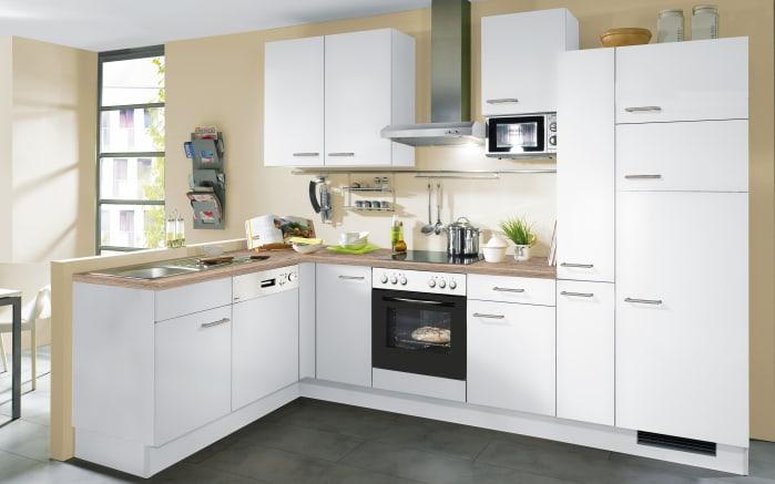 Einbauküche IP1200 in weiß, Privileg Geschirrspüler RBC3B19X