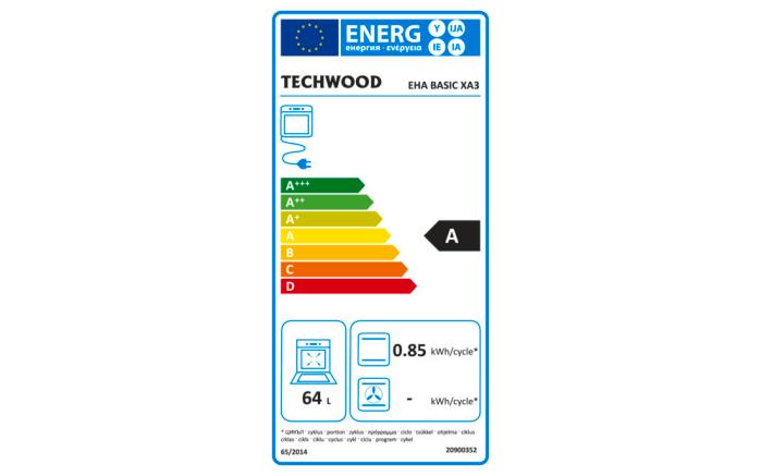 Einbauküche IP 1200 in weiß, Techwood-Kühlschrank KSE1500