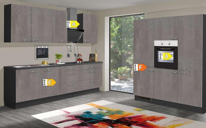 Einbauküche Star 236, graublau, inklusive Elektrogeräte-03