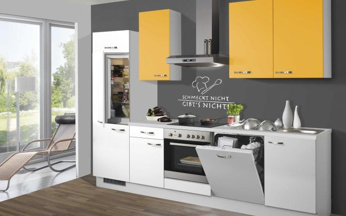Marken-Einbauküche 715 PN 80 in weiß