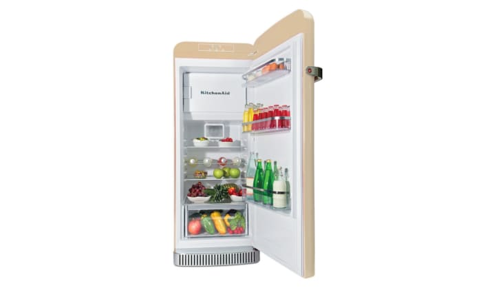 Standkühlschrank Kitchen Aid KCFMB60150R in beige, Höhe ca. 150 cm