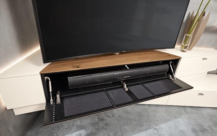 wohnwand q media in wei online bei hardeck kaufen. Black Bedroom Furniture Sets. Home Design Ideas