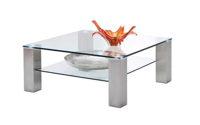 Couchtisch Asta I aus Klarglas