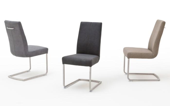 MCA furniture Stuhlgruppe Brasilia/Managua aus Biancoeiche/taupe