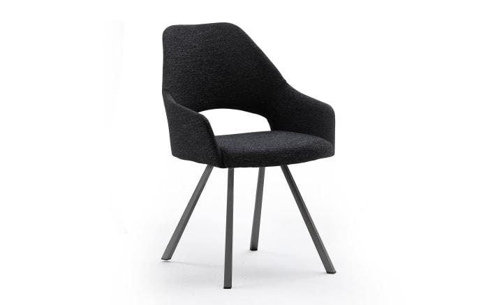 4-Fuß-Stuhl 3036 in schwarz