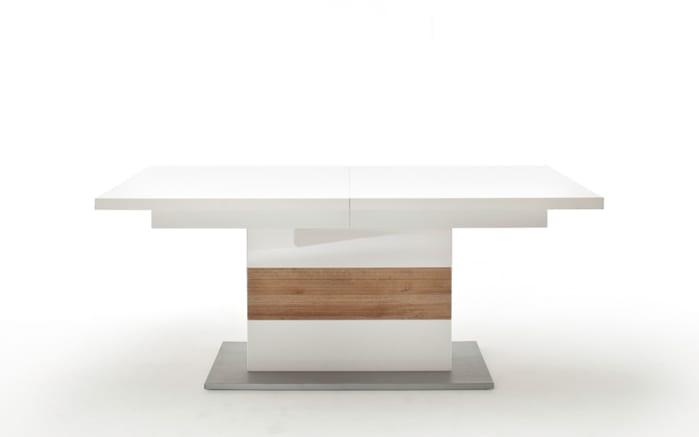 Stuhlgruppe 3039 in weiß / Riviera-Eiche, mit 6 Stühlen-03