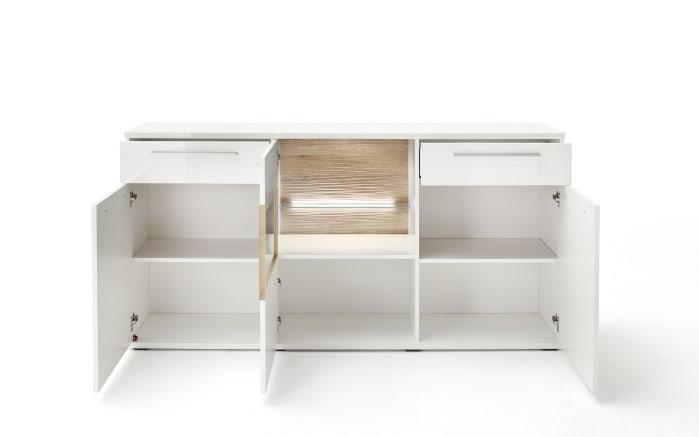 Sideboard 3039 in weiß Hochglanz