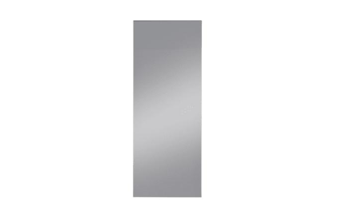 Wandspiegel klein aus Klarglas, 37 x 95 cm