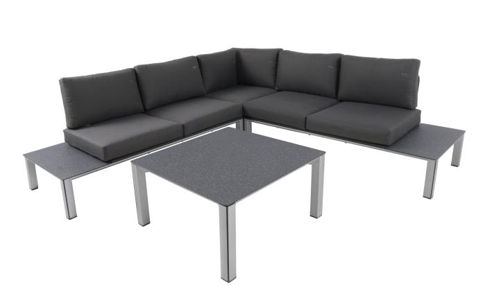 Garten-Sofa-Set Kedline in silber/grau