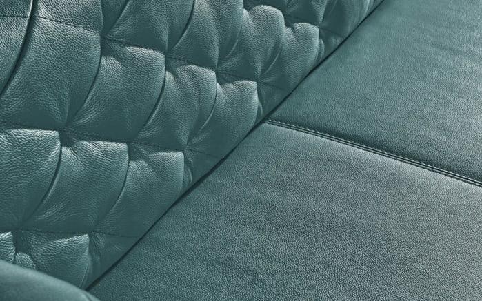 Solobank 3069 mit Seitenteilen in topas, mit schwarzen Metallkufen-02