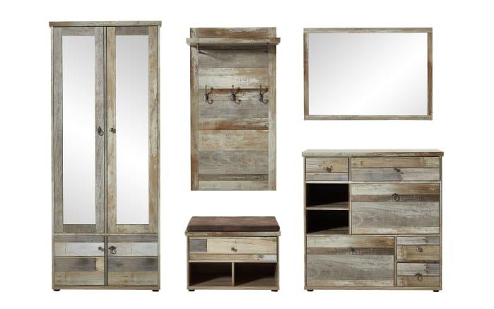 Spiegel Bonanza in Driftwood-Nachbildung, 97 x 70 cm-02