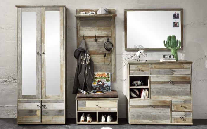 Spiegel Bonanza in Driftwood-Nachbildung, 97 x 70 cm-03