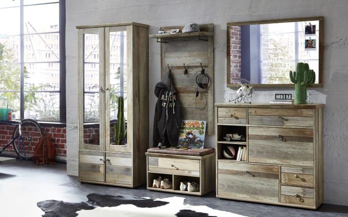 Spiegel Bonanza in Driftwood-Nachbildung, 97 x 70 cm-04