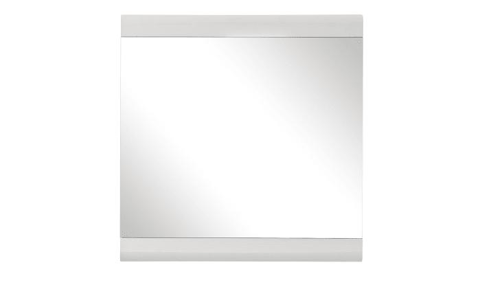 Spiegel Funny in weiß, 84 x 86 cm