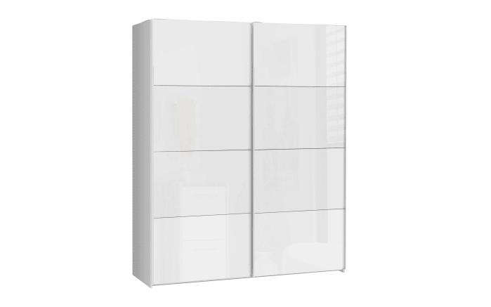 Schwebetürenschrank Starlet Plus in weiß, Breite ca. 170 cm