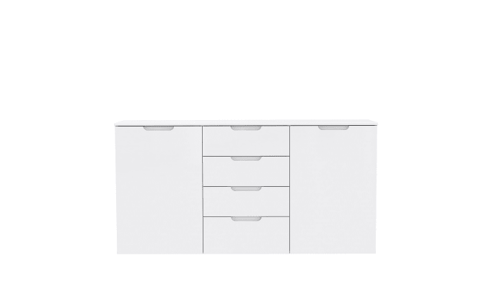 Kommode Sienna in weiß, ca. 165 cm Breit