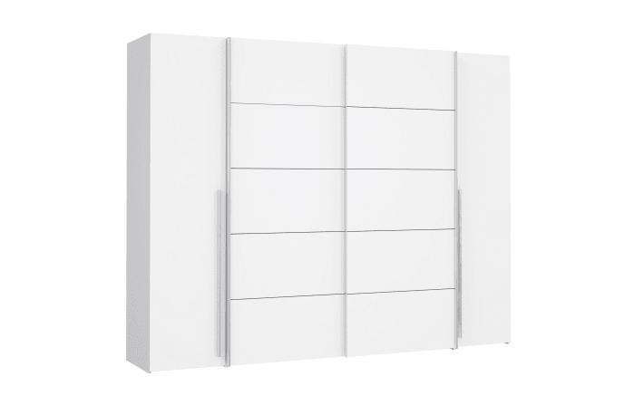 Kleiderschrank Narago in weiß