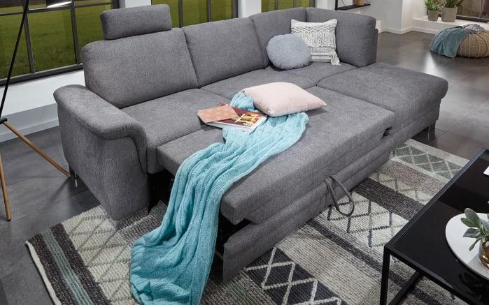 Funktions-Wohnlandschaft inklusive Bett TS 211 in grey