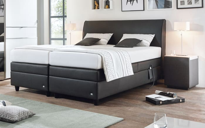 motor boxspringbett mercata in anthrazit online bei hardeck kaufen. Black Bedroom Furniture Sets. Home Design Ideas