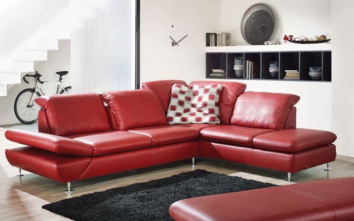 leder wohnlandschaft taoo in rot online bei hardeck kaufen. Black Bedroom Furniture Sets. Home Design Ideas