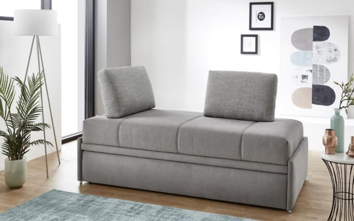 Schlafsofa Twin in grau