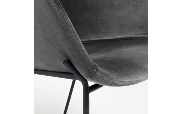 Stuhl Zadine in grau