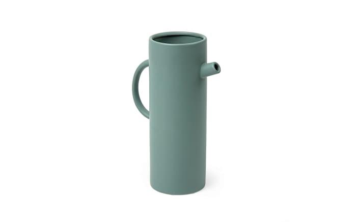 Vase Hermine in dunkelgrün, 30 cm