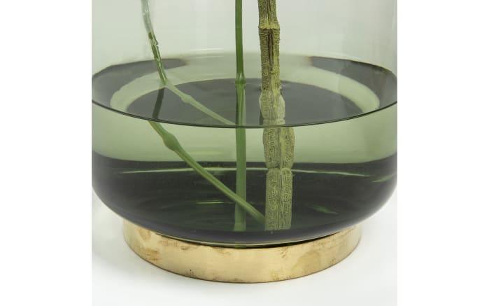 Vase Jayna in grün, 33 cm