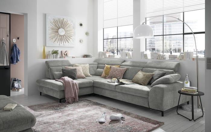 Wohnlandschaft SO 3400 in grey, inklusive Sitztiefenverstellung-02