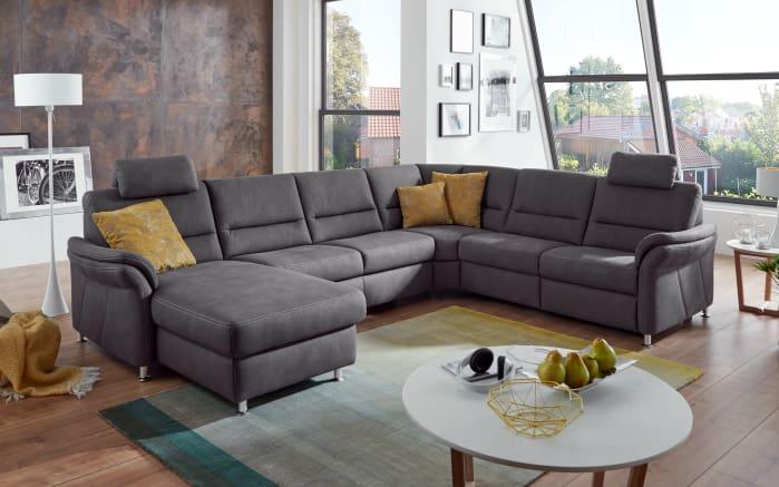 wohnlandschaft dale in grau online bei hardeck kaufen. Black Bedroom Furniture Sets. Home Design Ideas