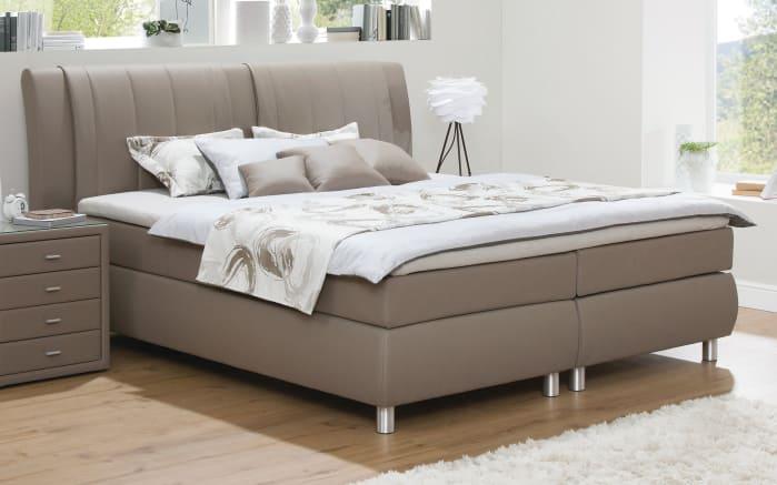 boxspringbett tommaso 2 in muddy online bei hardeck kaufen. Black Bedroom Furniture Sets. Home Design Ideas